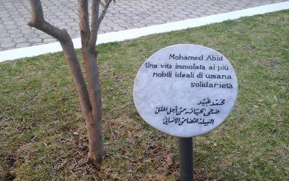 Au Jardin des Justes : L'Italie rend hommage à Mohamed Abid