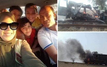 Sfax : Enquête sur le décès d'une famille dans un accident de train