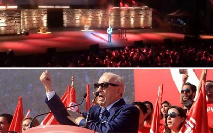 Festival de Carthage : Jamel Debbouze charrie Caïd Essebsi père et fils
