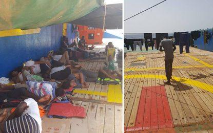 Zarzis : La Tunisie refuse d'accueillir des migrants rescapés d'un naufrage