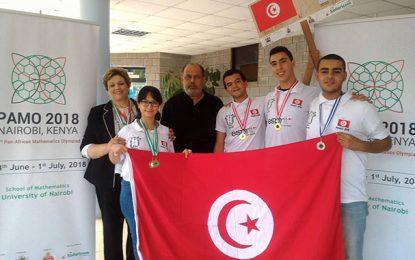 Olympiades africaines des Mathématiques : Quatre médailles pour la Tunisie