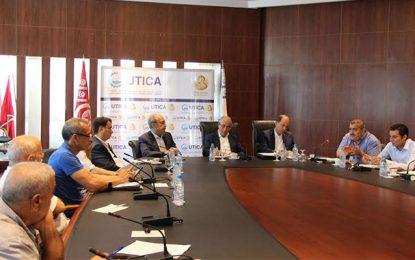 Utica : Réunion sur les difficultés des secteurs du textile et des chaussures