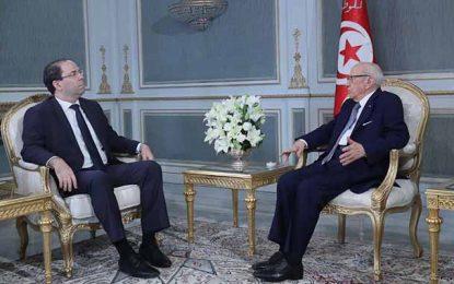 Présidentielles 2019 : Chahed devance Caïd Essebsi (sondage)