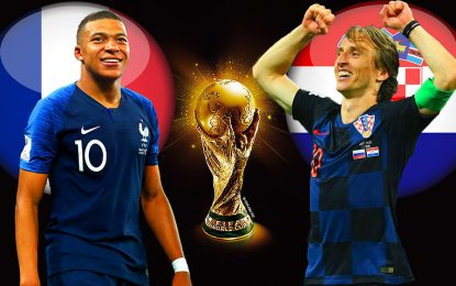 France-Croatie streaming live: Finale coupe du monde 2018