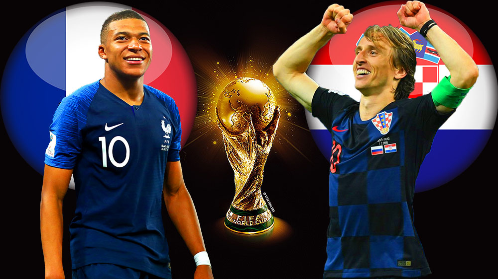 France croatie streaming live finale coupe du monde 2018 - Date de la finale de la coupe de france ...