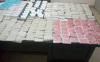 Saisie de médicaments destinés l'exportation illégale en Algérie