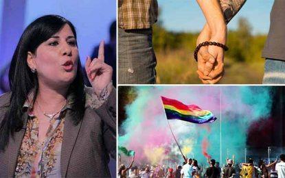 Tunisie : Abir Moussi trouve des justifications juridiques à l'homophobie