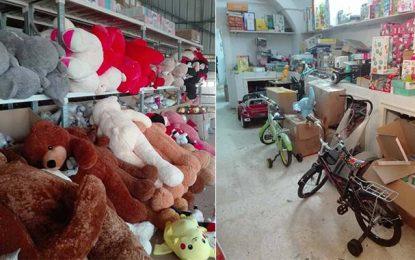 Ariana : Saisie de jouets dangereux pour les enfants