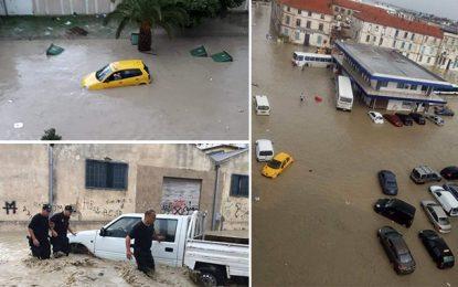 Après de fortes pluies, Bizerte paralysée par les inondations