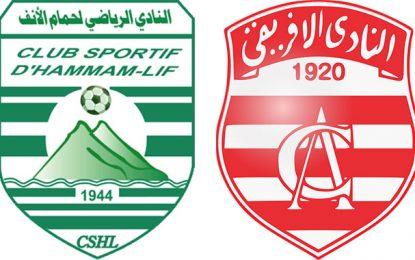 Ligue 1 : changement d'arbitre pour CS Hammam-Lif – Club africain