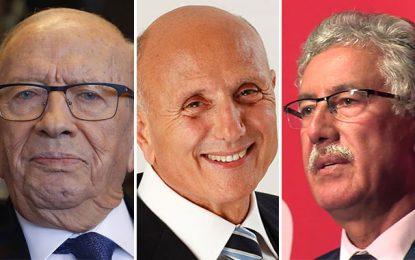 Caïd Essebsi, Chebbi et Hammami : Trois politiques atteints du syndrome d'hubris