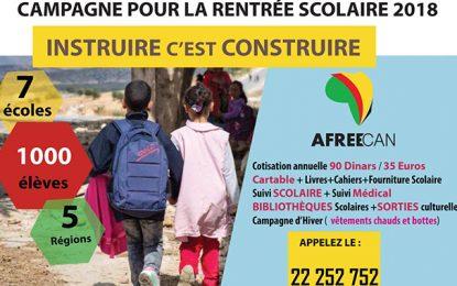 Rentrée 2018 : Campagne pour scolariser 1.000 élèves