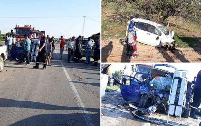 Une famille de Meknassy décimée dans un accident à Cherarda