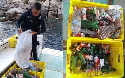 Tunisie : Grand nettoyage du fonds marin à El-Haouaria