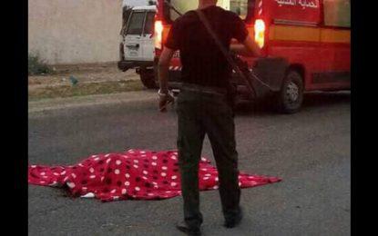 Gafsa : Il poignarde sa femme et se tue en se jetant sous une voiture