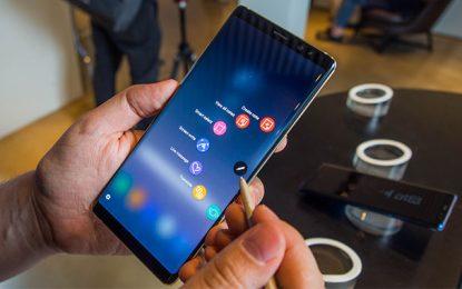 Le nouveau Galaxy Note9 pour les férus des dernières innovations