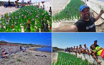 Nettoyage des plages : 1.775 bouteilles de bière ramassées à Gammarth