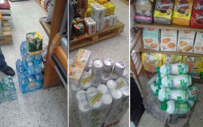 Saisie de produits impropres à la consommation à la Marsa et Carthage