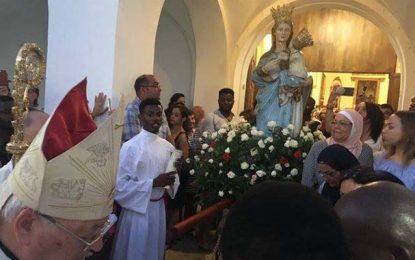 La Goulette célèbre la procession de la Madone de Trapani