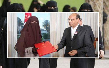 Marzouki, le défenseur des niqabées, contre la parité successorale