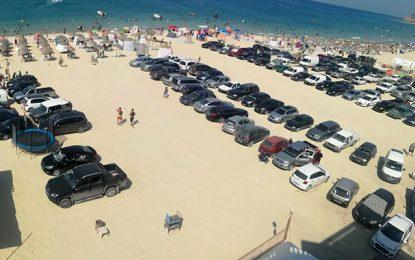 Bizerte : Un parking «pieds dans l'eau» envahit la plage de Rafraf