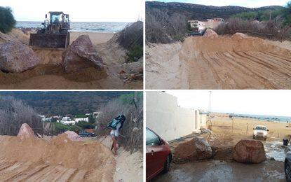 Parking «pieds dans l'eau» à Rafraf : L'Apal bloque l'entrée des voitures