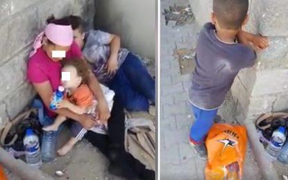 Sidi Rezig : Appel à aider une mère et ses enfants abandonnés dans la rue