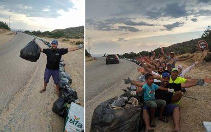 Nettoyage des plages : trois tonnes de déchets ramassées à Korbous
