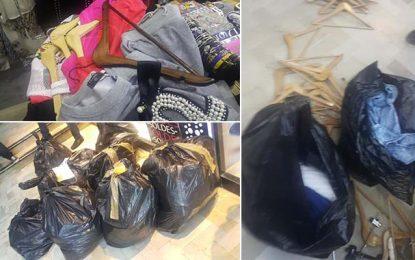 El-Manar : Saisie de 2.000 vêtements de contrebande
