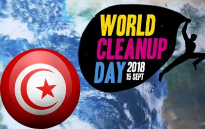 World clean up day : La Tunisie participe au grand nettoyage