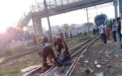 Hammam-Lif : Un corps déchiqueté, retrouvé sur les rails du train