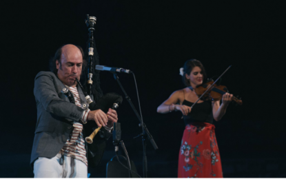Carlos Nuñez et sa gaïta séduisent le public de Hammamet