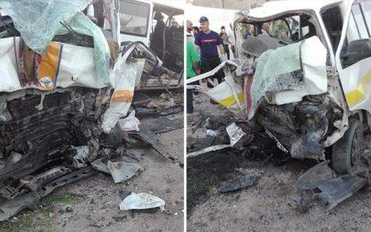 Zaghouan : Le bilan de l'accident d'El-Fahs s'alourdit