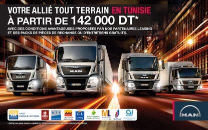 Les camions Man conjuguent puissance et robustesse