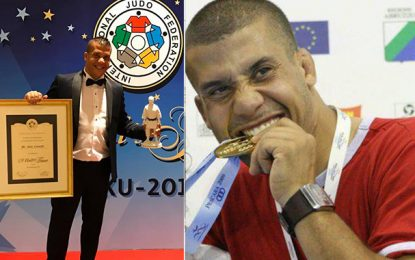 Le Tunisien Anis Lounifi honoré par la Fédération internationale de judo