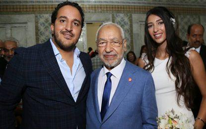 Présence controversée de Ghannouchi au mariage de Bendir man