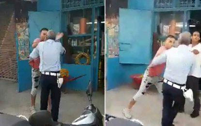 Bizerte : Un repris de justice placé en détention pour avoir agressé un policier