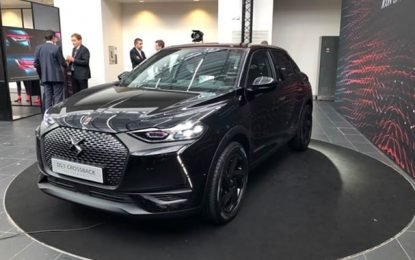 Auto : La DS 3 Crossback en passe de devenir l'icône du style high-tech