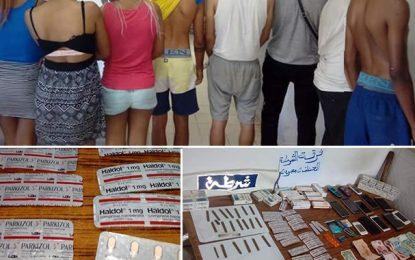 Prostitution et trafic de drogue : Seize jeunes arrêtés à Djerba
