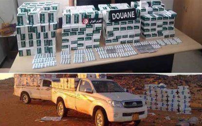 Tozeur : Saisie de 22.400 pilules destinées à la contrebande