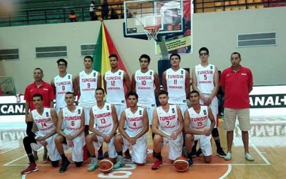 CAN U18 de basketball : La barre trop haute pour les Tunisiens