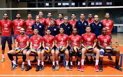 Volleyball : Trois derniers tests pour la Tunisie avant le Mondial
