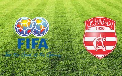 La Fifa suspend provisoirement les sanctions contre le Club africain