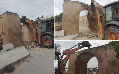 Patrimoine : Démolition d'une arcade historique à Ghar El-Melh