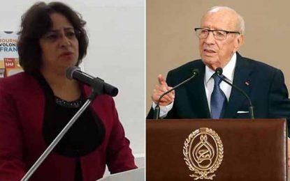 Houda Slim : Caïd Essebsi a laissé son fils détruire Nidaa Tounes