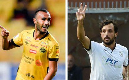Issam Jebali marque in extremis, Karim Laribi montre la voie