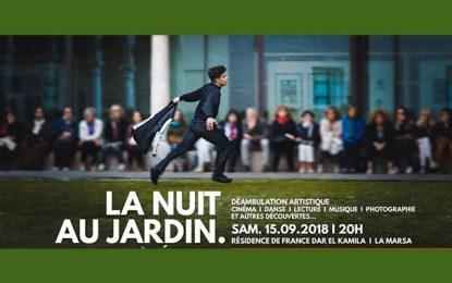 «La nuit au jardin» : La résidence de France ouvre ses portes au public