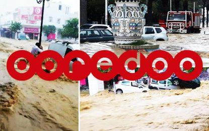 Avec Ooredoo Tunisie, faites vos dons en faveur des sinistrés du Cap Bon
