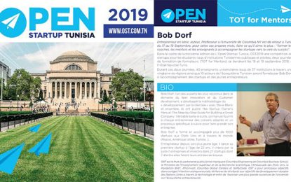Open Startup Tunisia : Formation de coachs en mentoring