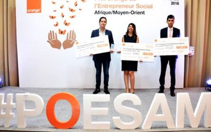 Amira Cheniour lauréate du prix national Orange de l'entrepreneuriat social